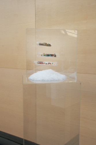 Frozen goods. Installation, 2011.